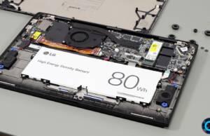 lg gram 16 internals battery speakers