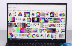 lg gram 16 screen colors